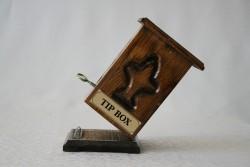 Ahşap Kumbara - Bahşiş Kutusu - Tip Kutusu - Thumbnail