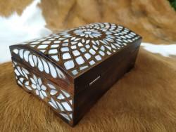 Sedef İşlemeli Mücevher Kutusu Hk-2015 - Thumbnail