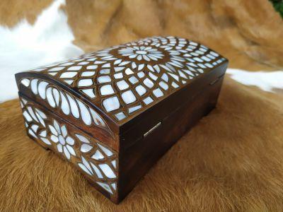 Sedef İşlemeli Mücevher Kutusu Hk-2015