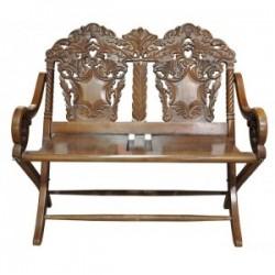 ÜCRETSİZ KARGO - Çift Kişilik Salon Sandalyesi (Katlanır)