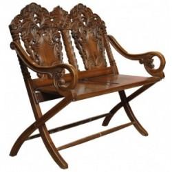 Çift Kişilik Salon Sandalyesi (Katlanır) - Thumbnail